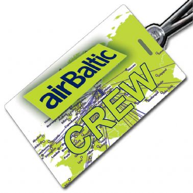 AIR BALTIC - Crew Tag